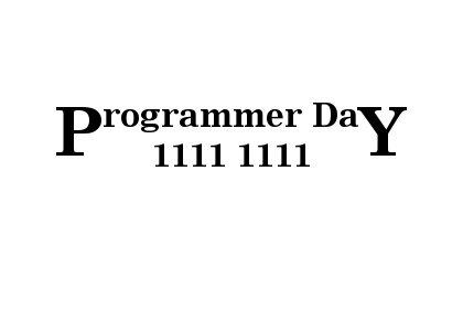 Programmer Day Logo
